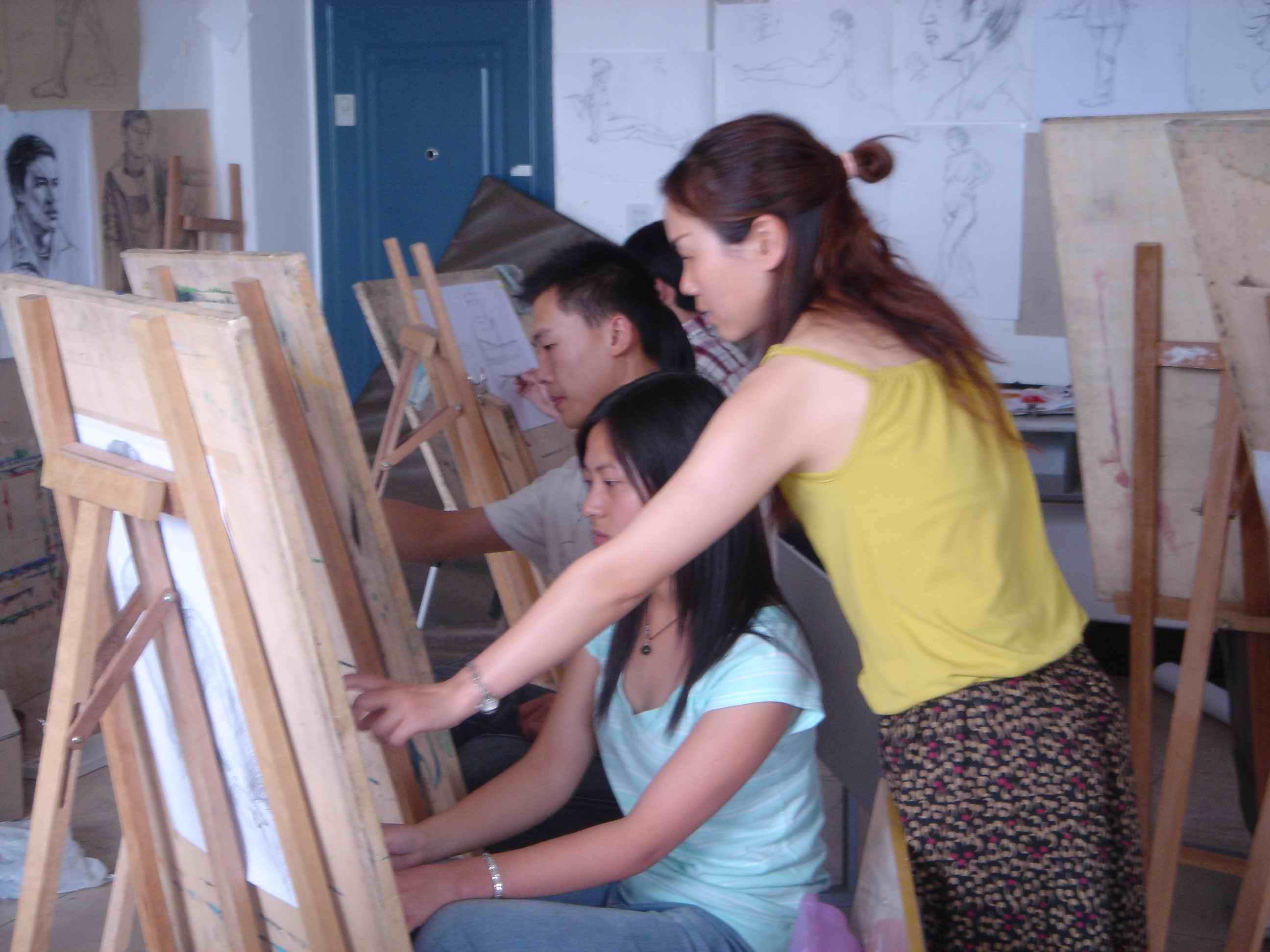 美术课程教学掠影