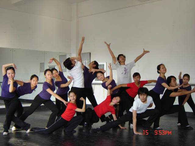 舞蹈教学掠影
